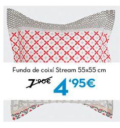 Funda de coixí Stream. Rebajas en www.lamallorquina.es