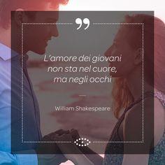 """L'amore di Romeo per Giulietta, decantato dalla nostra cultura come il più grande, romantico e passionale degli amori, fu in realtà una """"cotta"""" adolescenziale? #aforismi #aforisma #frasi #frase #occhi #eyes #sguardo #shakespeare #giovani #amore #love"""