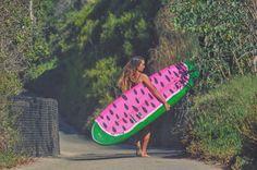 watermelon-surfboard