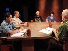 Insights on PBS Hawaii with moderator Dan Boylan: Should we have the right to decide how we die? Panelists from left to right: David Louie, State Attorney General; James Pietsch, Director, University of Hawaii Elder Law Program; Barbara Coombs Lee, National President, Compassion & Choices; Dr. Emese Somogyi, Palliative Medicine Physician, Castle Medical Center