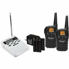 Midland MDLWR100 KIT Weather Radio by Midland. $149.95. Amazon.com                 This kit from Midland combines their Midland WR100 Weather Radio with a pair of LXT112VP two-way radios, outfitting you with a home weather/hazard radio solution and a portable two-way system at once. The WR-100 Weather/All Hazard Radio Stay up to date on all the latest weather, hazard, and civil emergency information with the Midland WR-100B monitor. Capable of receiving seven Na...