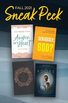 FALL 2021 SNEAK PEEK 👀 Look at some of the amazing #CatholicBooks coming this Fall, including a prayer journal by Emily Wilson Hussem, a collection of prayers for Catholic moms, and an Advent journal by Fr. John Burns and illustrated by Valerie Delgado! Available for preorder here. Sense Of Life, Catholic Books, Spirituality Books, Prayer Book, Awakening, Advent, Burns, Prayers, Meditation