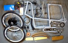 the grey electric bicycle by philip crewe