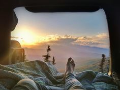 Lay with me and watch the sun rise.
