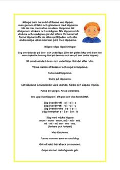 version-ddaa330641d4d7fa412387b03b379a76 (1024×1448) Preschool Activities At Home, Educational Activities For Kids, Motor Activities, Learn Swedish, Swedish Language, Special Needs, Speech And Language, Diy For Kids, Kindergarten