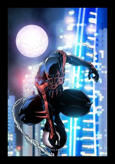 Spiderman 2099 by JackLavy