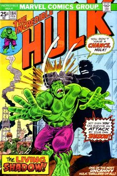Incredible Hulk #184. Shadows.