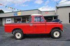 Land Rover: defensor Serie IIA
