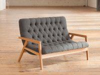 Phloem Studio's Regina Lounge.  Phloem makes Beautiful Handmade Modernist Furniture with sharp-angled lines.  http://www.portlandmonthlymag.com/articles/ben-klebba-april-2014.