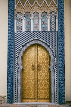 Royal Palace in Fes | photography by http://www.sasithonphotography.com/
