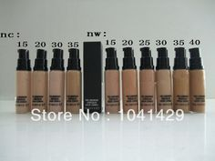 Hot Selling  (6pcs/lot )New arrivals  Bottom makeup brand MC nc15~nc35 and nw15~40