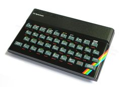 Sinclair ZX-80, ZX-81 -  The Sinclair Spectrum was the UK's equivalent of the Commodore 64.