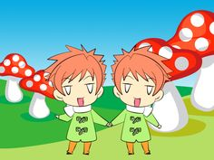 Ouran Host Club Twins | Ouran High School Host Club Twin