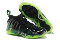 "419391a0f343e Nike Air Foamposite One ""ParaNorman"" Black Electric Green For Sale WhMpR"