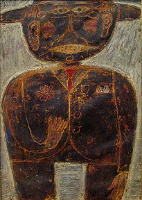 Born July in Le Havre, France, Jean Dubuffet attended art classes in his youth and in 1918 moved to Paris to study at the Académi. Jean Paul Basquiat, Collage Art, Collages, Modern Art Pictures, Basquiat Paintings, Degenerate Art, Jean Dubuffet, July 31, Contemporary Wall Art