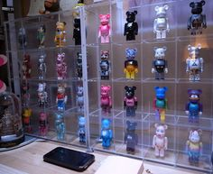 cases to display bearbricks.
