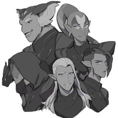 Voltron / Lotor's team