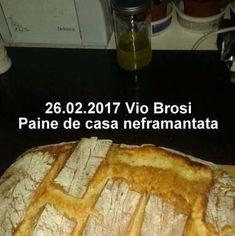 Paine de casa neframantata reteta rapida | Savori Urbane Viera, French Toast, Bread, Breakfast, Traditional, Food, Morning Coffee, Brot, Essen