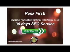 Rank your website on top of google for any given keyword - YouTube