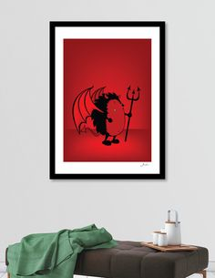 Discover «Bad Hedgehog», Numbered Edition Fine Art Print by Mangulica - From $20 - Curioos