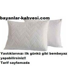 Sararan yastıklar nasıl beyazlatılır,Yastıklarınızın zaman içerisinde sararmasından çok kolay bir yöntemle