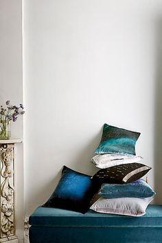 Kevin O'Brien Shibori Velvet Pillow