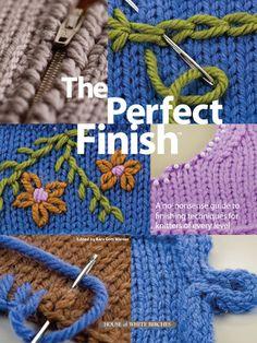 Knitting - The Perfect Finish - #124033E