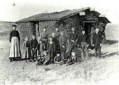 Old soddie school house.