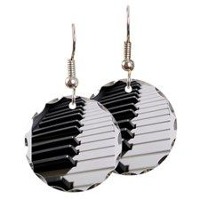 Piano Keys photo Earring, because why not?!?!