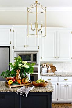 2016 Fall Home Tour  ||  Kitchen  || Dimples and Tangles