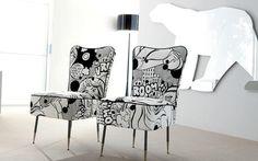 decoração preto e branco - Pesquisa Google