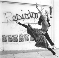"maryannimal: November 2007.  Caption: ""If I can't dance, I don't want to be part of your revolution."""