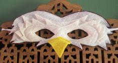 Eagle Mask. - face of an eagle