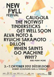 Verlosung: New Fall Festival 2012 - Karten für zwei Festival-Konzerte
