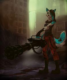 Zombie hunter by 2078.deviantart.com on @DeviantArt