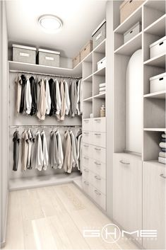Closet Layout 767934173946580974 - Project of wardrobe Gdańsk on Behance Source by nathalielevourch Walk In Closet Design, Bedroom Closet Design, Master Bedroom Closet, Home Room Design, Closet Designs, Home Interior Design, Bedroom Decor, Bedroom Designs, Closet Renovation