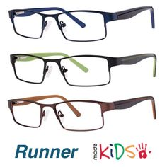 2a38c4bc399 ... leads the pack with sporty rectangular fronts and pops of boyish colors  on the temples. Affordable and durable eyewear for kids