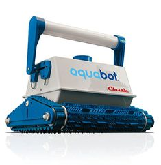 Aquabot Classic Automatic Robotic In Ground Pool (Blue) Cleaner with Extra Replacement Filter Bag Above Ground Pool, In Ground Pools, Swimming Pool Cleaners, Swimming Pools, Robotic Pool Cleaner, Pool Cleaning, Cool Pools, L Shape, Going To Work