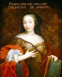 Francoise Madeleine d'Orleans (1648-1664). Daughter of Gaston d'Orleans and Marguerite of Lorraine. Wife to Charles Emmanuel II, Duke of Savoy