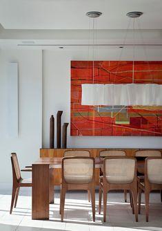 Vista Apartment by Paula Neder #interiors #interiordesign #decorating