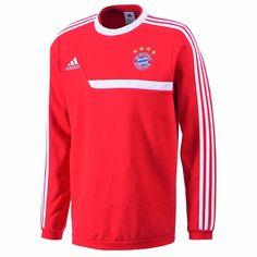 Adidas Bayern München Sweat Shirt  2013/14    Gr. 3  (M/L)    Hammerpreis !!!!