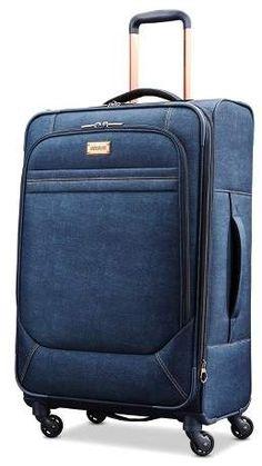 ed244d1349 American Tourister Arabella 26 Luggage - Denim Blue Almacenamiento De  Bolso, Moda Para Mujeres,