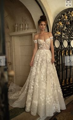 Miami wedding dress - berta spring 2019 bridal off the shoulder sweetheart neckline full embellishment romantic a line wedding dress open back chapel train mv Berta Spring 2019 Wedding Dresses Wedding Inspirasi w Dream Wedding Dresses, Bridal Dresses, Prom Dresses, Spring Dresses, Wedding Dresses Berta, Spring Wedding Dresses, Wedding Dress Sparkle, Off White Wedding Dresses, Wedding Flowers
