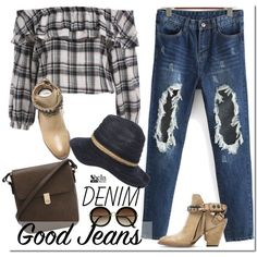 how to wear blouses with jeans 7