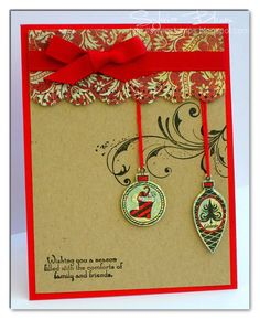 make shrink ornaments for this card