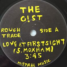 """The Gist, Love At First Sight, 7"""" 1982 Moxham, John Cage, Music School, Love At First Sight, Album, Artwork, Work Of Art, Auguste Rodin Artwork, Card Book"""