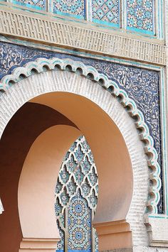 Meknes door by luca.gargano, via Flickr