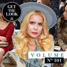 Get the 'Paloma Faith' look met de Eylure Volume lashes # 101