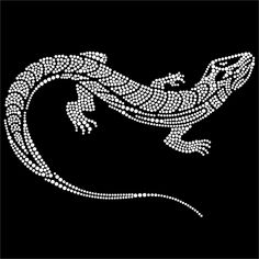 Blingworx - Племенной Lizzards-3 Исправление Стразы Мотив Передачи