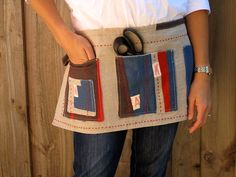 Utility apron ... so functional and cute!